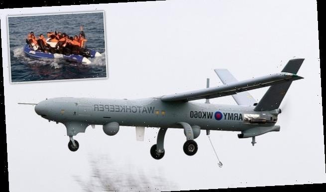 Army surveillance drone to look for migrants in English Channel