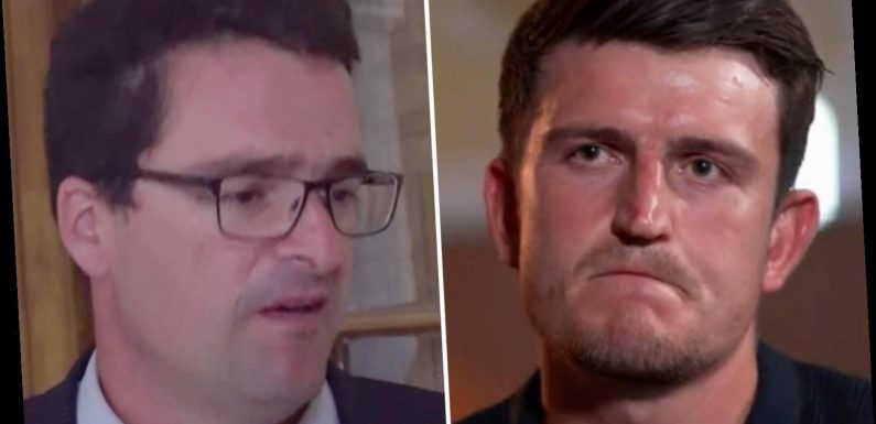 Harry Maguire's BBC interview slammed as 'absurd' by Greek prosecutor who claims Man United star is 'making up stories'