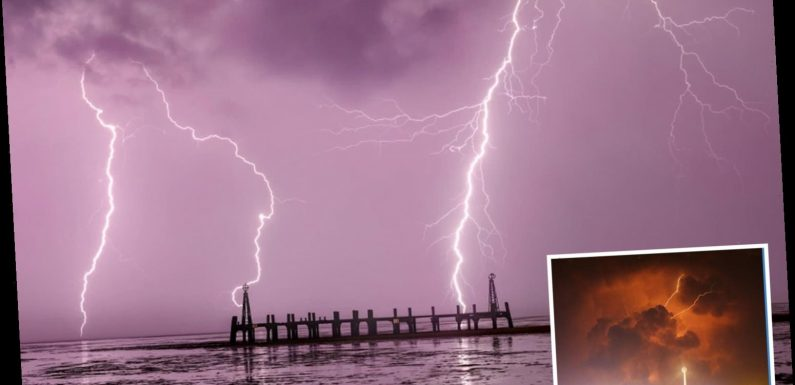 UK weather: Britain battered by 'apocalyptic' thunderstorms sparking flash floods and power cuts