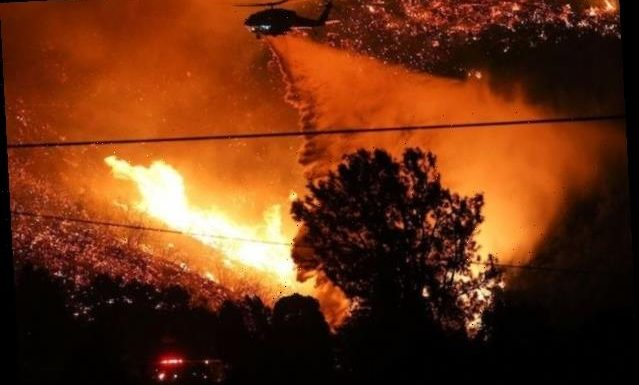 Lake Fire in Angeles National Forest Burns 10,500 Acres, 0% Contained
