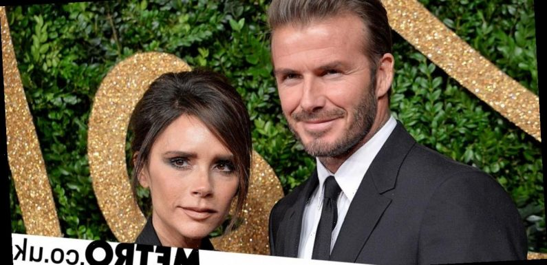 Victoria Beckham mocks David's sexy throwback and he's having none of it