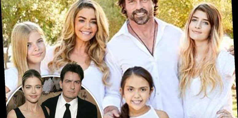 RHOBH star Denise Richards is scared her daughters with Charlie Sheen are going to grow up with 'daddy issues'