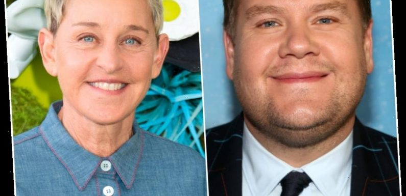 James Corden Is Reportedly Being Eyed As a Replacement for Ellen DeGeneres After Her Talk Show Scandal