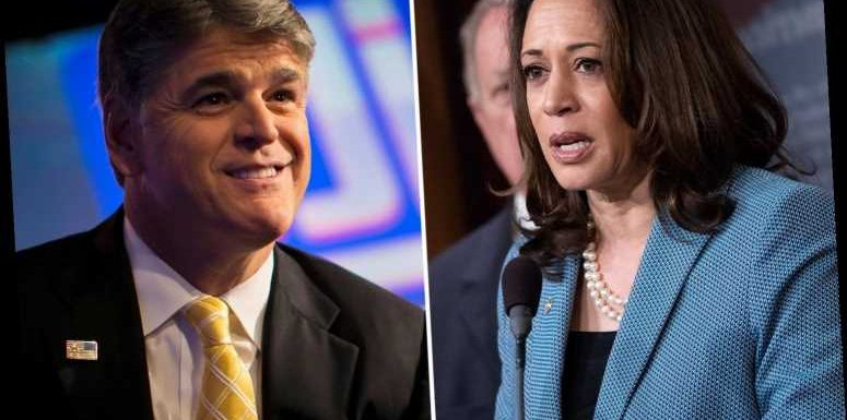 Kamala Harris ripped by Sean Hannity as 'the most radical running mate ever' because she 'supports socialism'