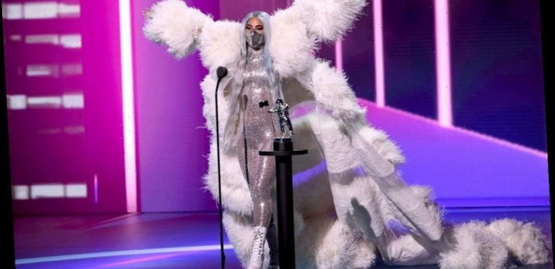 Lady Gaga Accepted the First Tricon Award — Here's What the New MTV VMA Recognition Is