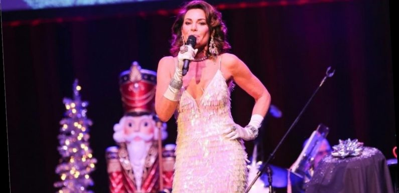 Luann de Lesseps denies dating American Idol contestant Constantine Maroulis but admits he's 'sexy'