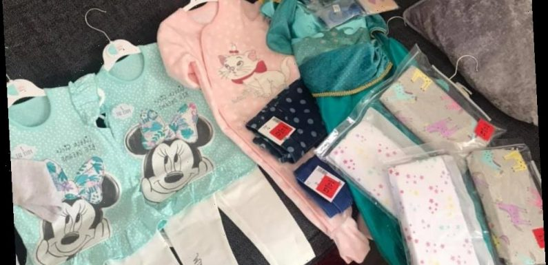 Mum shows off huge Asda haul for £37 – including Disney baby clothes for just £2