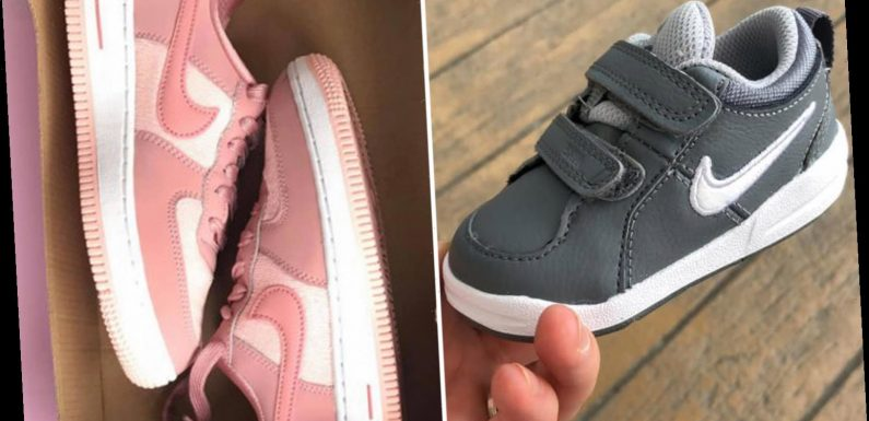 Shoppers show off their MASSIVE Nike sale hauls including trainers for under a tenner and baby shoes for just £3