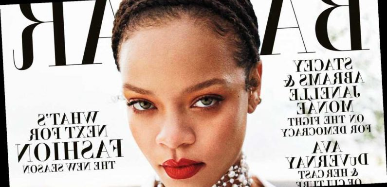 Rihanna Covers All 26 International 'Harper's Bazaar' September Issues