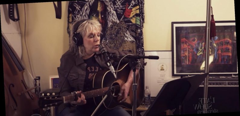 Lucinda Williams Rocks Out to 'You Can't Rule Me' on 'Colbert'