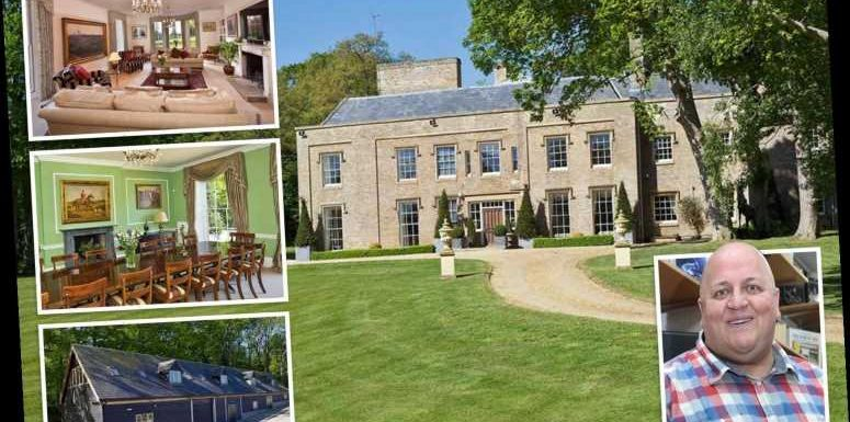 EuroMillions winner Adrian Bayford's empty mansion broken into by squatters who started using his gym and swimming pool