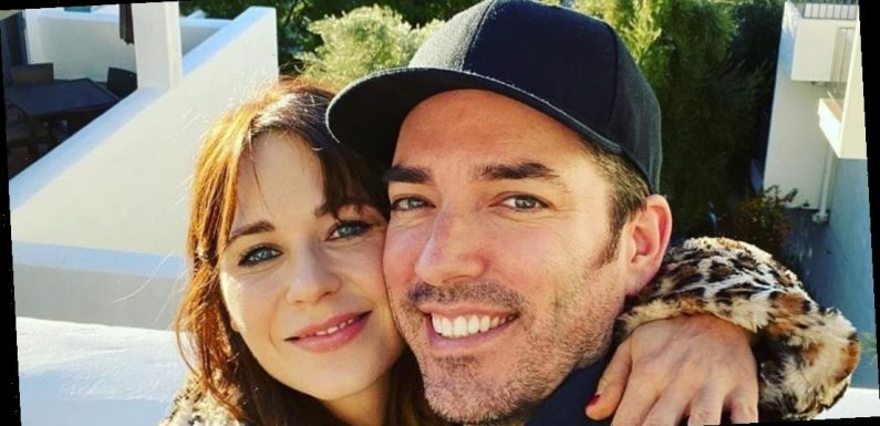 Zooey Deschanel Says She's 'So Grateful' for Jonathan Scott on Their 1st Anniversary