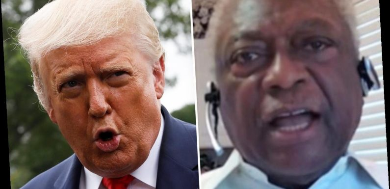 Rep Jim Clyburn shockingly compares Trump to HITLER and says he'll try to hold onto power