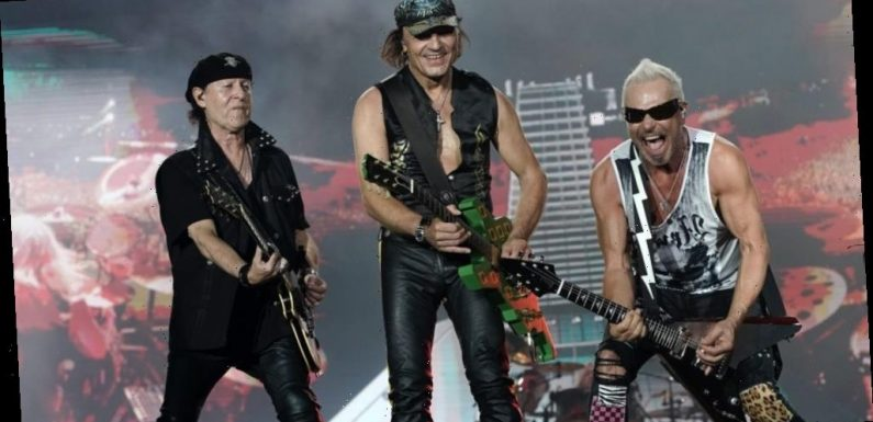 Scorpions Promise Piece of Berlin Wall with Every Copy of New Box Set