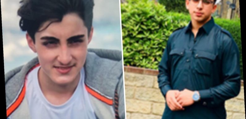 Devastated mourners gather for funeral of teen brothers who drowned after being trapped by tide