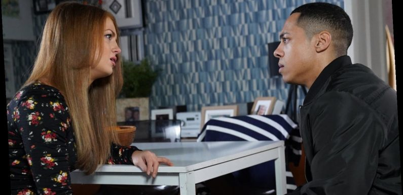 EastEnders: Tiffany and Keegan's reunion explained as Maisie Smith reveals they are happy during lockdown
