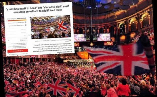 Rule Britannia! petition to reinstate banned lyrics for BBC Proms smashes 10,000 in just 24 hours