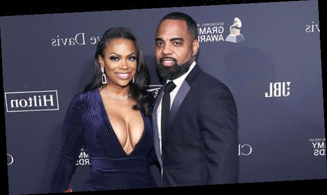 'RHOA's Kandi Burruss Celebrates Husband Todd's Birthday With Caged Strippers — Watch
