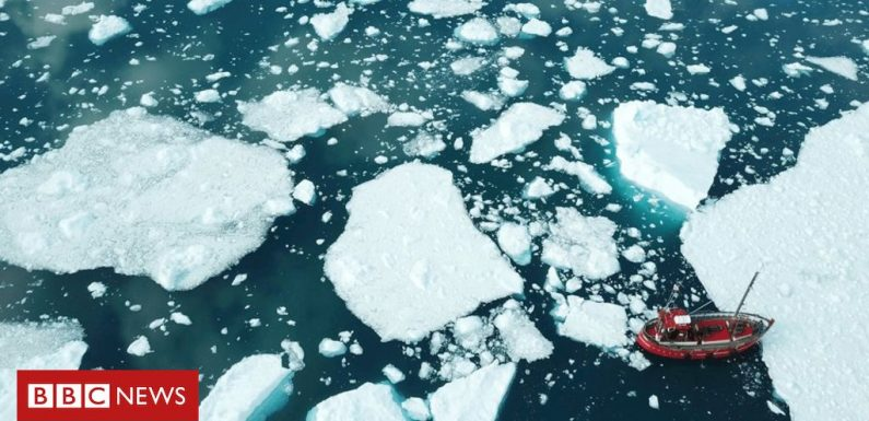 'Extreme' ice loss as Greenland smashes record