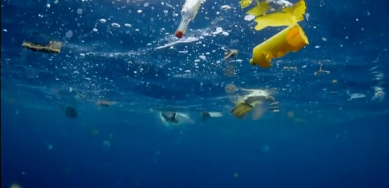 Atlantic microplastic 'weighs millions of tonnes'