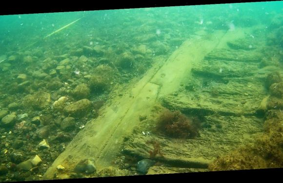 Lost 17th-century warship found on ocean floor but will soon be buried forever