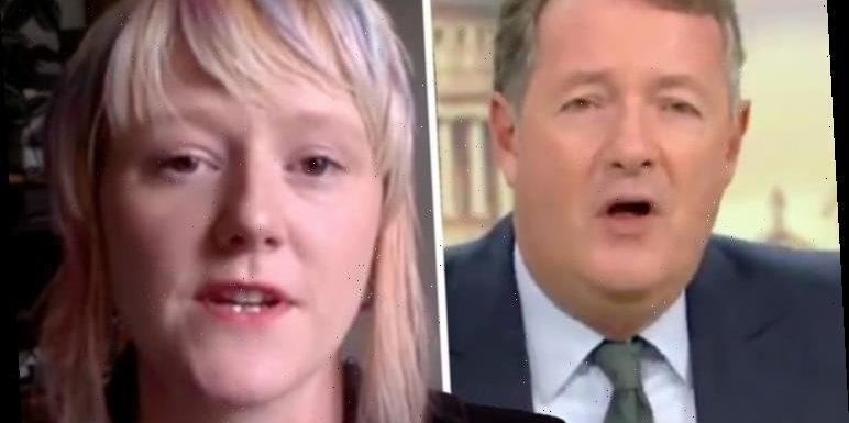 Piers Morgan in furious row with Extinction Rebellion on 'stupid' protest 'Dumbo activist'