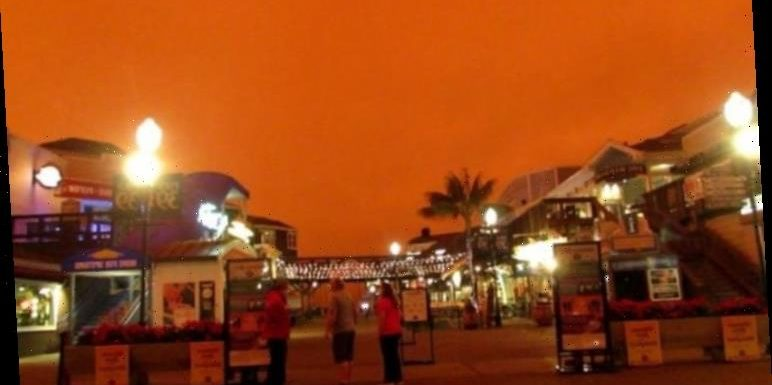 California fires: Pictures show San Francisco 'looking like Mars' in 'apocalyptic scene'