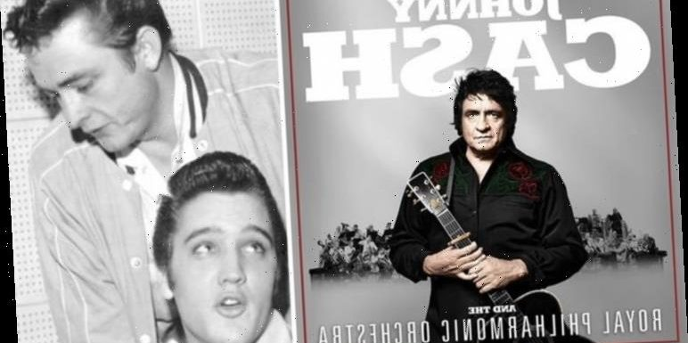 Johnny Cash follows Elvis in a Royal Philharmonic Orchestra album with UNRELEASED tracks