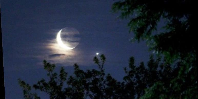 What is the planet next to the Moon tonight?