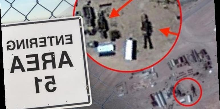UFO sighting: '50ft alien robot' spotted in Area 51 Google Maps image – claim