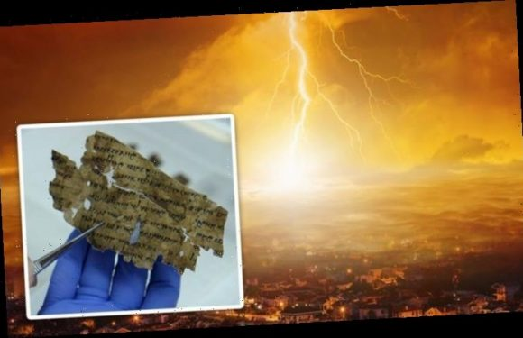 End of the world: 'Doomsday prophecy' of Dead Sea Scrolls unearthed by archaeologists