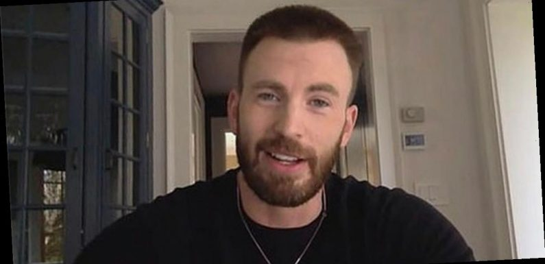 Chris Evans squirms as he's grilled over 'embarrassing' d**k pic fail