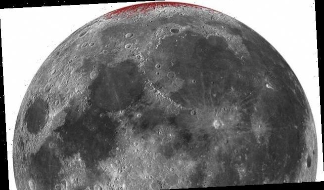 Iron on the Moon is RUSTING due to oxygen blown in on solar winds