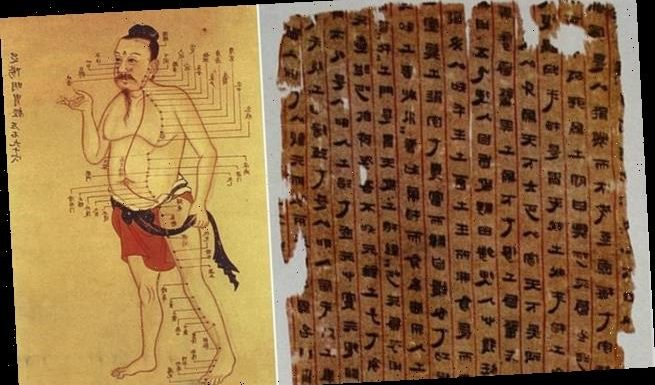 Chinese medical text from 2,000 years ago are oldestatlas of the body