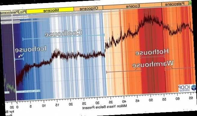 Global temperatures to reach a level not seen in 50 MILLION years