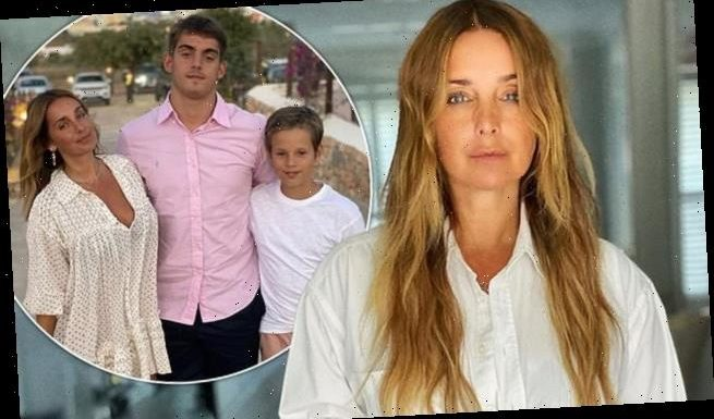 Louise Redknapp has been threatened with a BAN from her son's matches