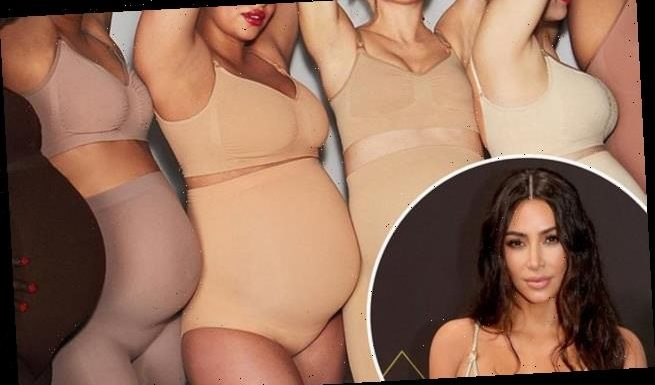 Kim Kardashian is criticized after introducing a Skims maternity line