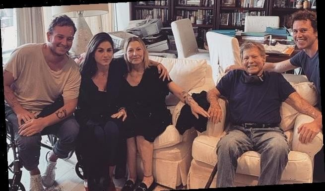 Ryan O'Neal and daughter Tatum pose for first family snap in 17 YEARS