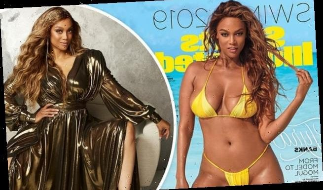 Tyra Banks, 46, 'proud' she crashed the Sports Illustrated site