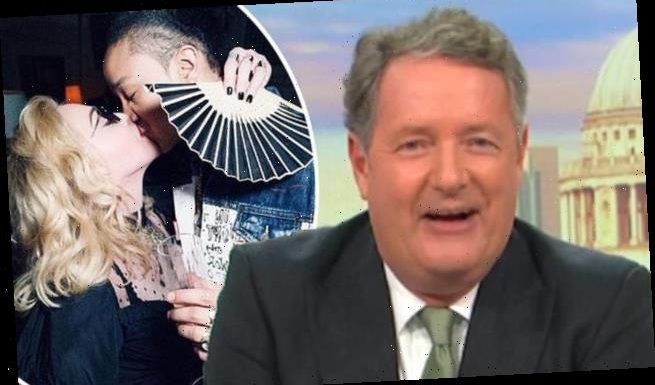 Piers Morgan brands Madonna 'pathetic' and 'embarrassing'