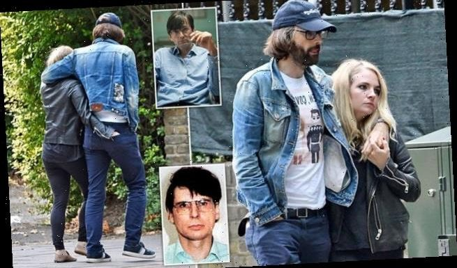 David Tennant goes for a loving stroll with his wife Georgia