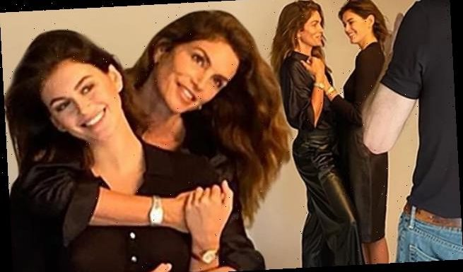 Kaia Gerber, 19, and her mother Cindy Crawford, 54, team up
