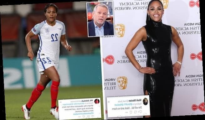 Boss of troll hunting firm says Alex Scott is 'prime target' for abuse