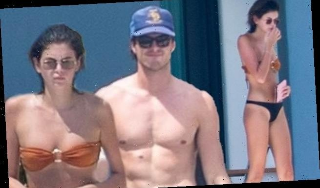Kaia Gerber and Jacob Elordi EXCLUSIVE: The couple models swimsuits