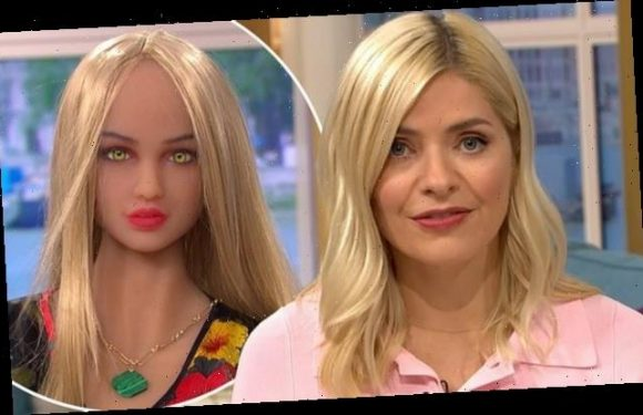 Holly Willoughby is compared to a SEX DOLL by This Morning crew member