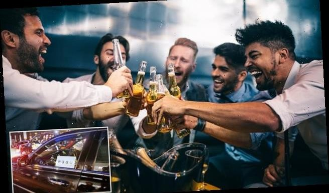 Urban binge drinking has risen by 3.7 per cent since 2012 due to Uber
