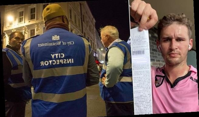 'Now sweat is illegal!': Jogger claims he was fined by 'Covid marshal'
