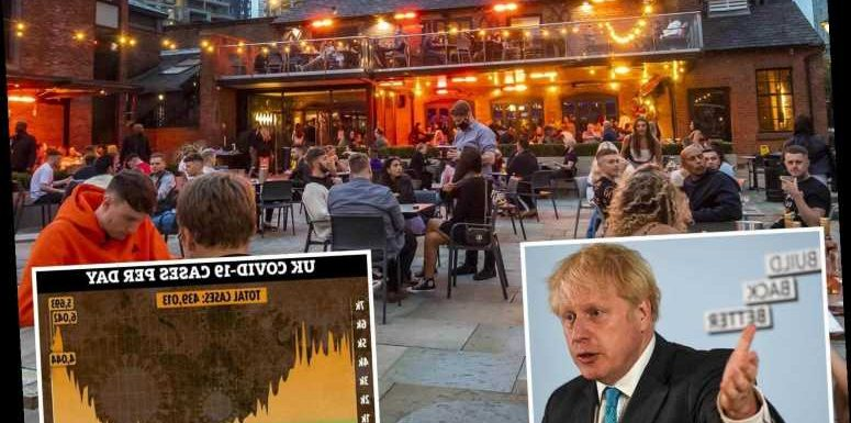 Boris Johnson muddles covid lockdown rules on mixing in North East & even HE can't say if pub garden trips are OK
