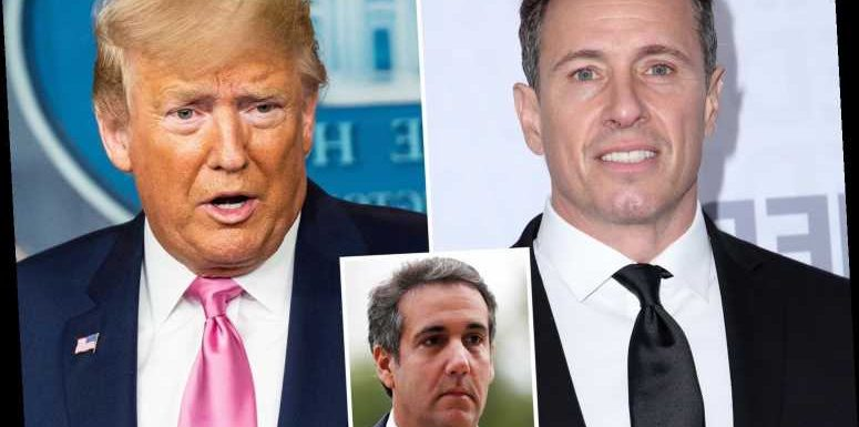 Trump slams 'Fredo' Chris Cuomo and hints at MORE Michael Cohen secret tapes with 'other media scum reporters'