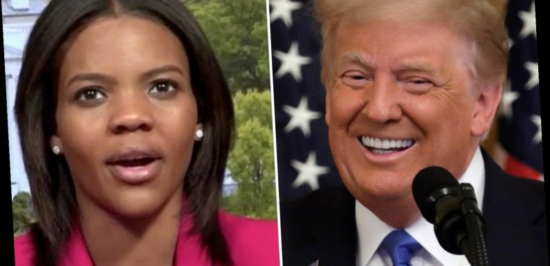 Candace Owens rips 'lying Democrats' and tells black Americans to 'quit the party and back Trump instead'